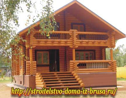Строительство экологического и прочного дома из бруса