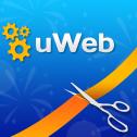 Кнопка: создание сайтов uWeb