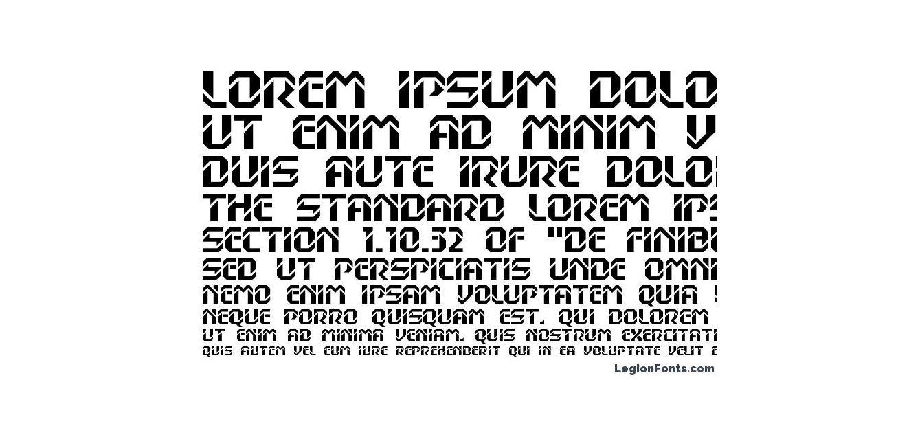 Шрифт dexterC
