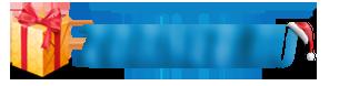 Праздничный логотип сайта PSD