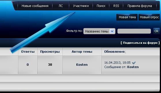 Лента форума как на zornet.ru