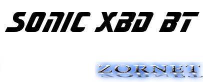 Скачать шрифт Sonic XBd BT для фотошоп