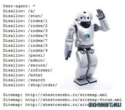 Правильно настраиваем robots.txt на ucoz