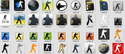 Игровые иконки CS 1.6