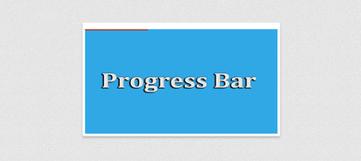Полоса загрузки (Progress Bar) для сайта