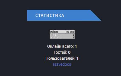 Блок для сайта